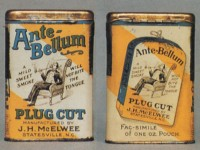 Antebellum Plug Cut Vertical Pocket Tin
