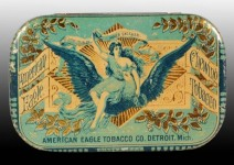 American Eagle Flat Pocket Tin