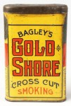 Bagley's Gold Shore Cross Cut Smoking