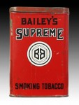 Bailey's Supreme Vertical Tin