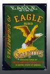 Eagle Bird Cigarettes Porcelain Sign