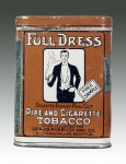 Full-Dress Pipe and Cigarette Tobacco Vertical Pocket Tin