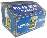 Polar Bear Store Display Advertising Bin