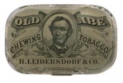 Old Abe Tobacco Tin